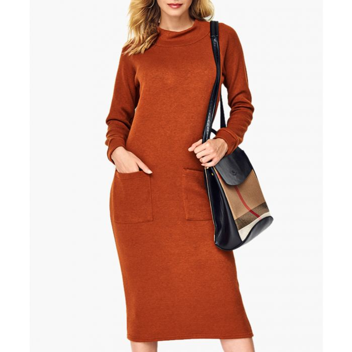 Image for Foxy knitted dress