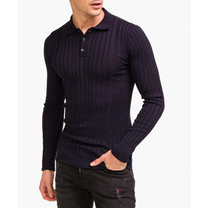 Image for Navy polo shirt