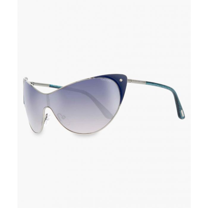 Image for Turquoise and blue gradient sunglasses