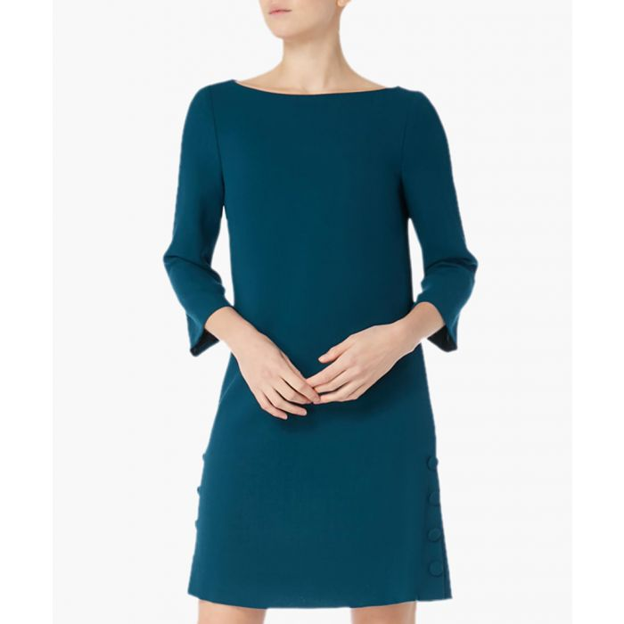 Image for Harlow wool crepe tunic dress