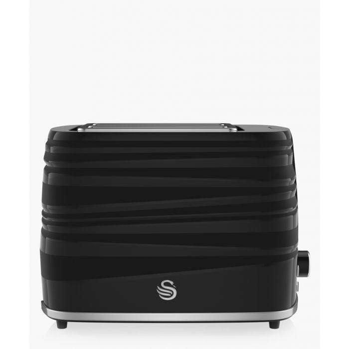 Image for Black 2-slice toaster