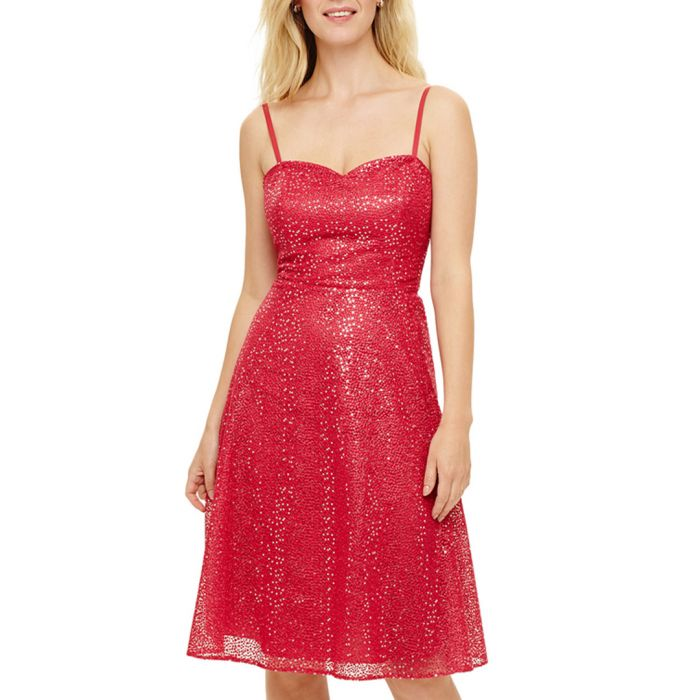 Image for Annis fuchsia sequin dress