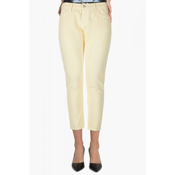 Image for Sadey butter mid-rise slim-straight jeans