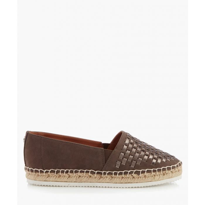 Image for Stark grey woven espadrilles
