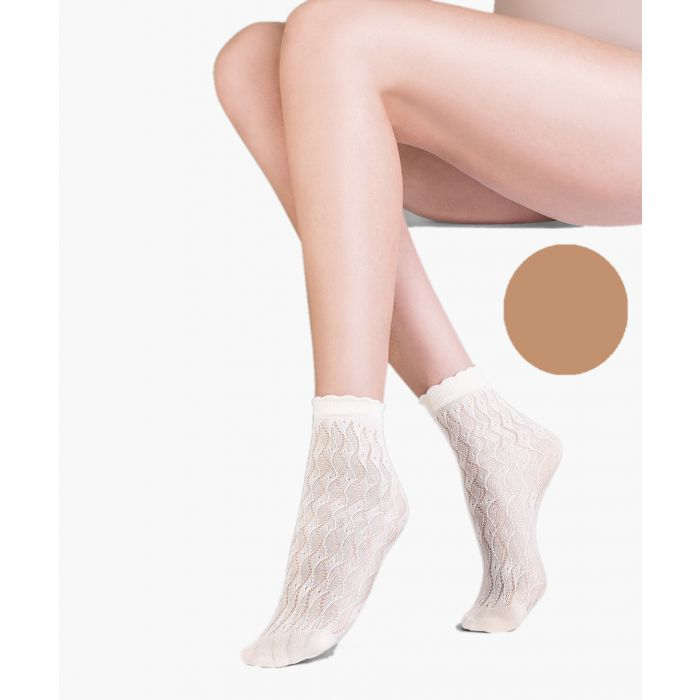 Image for Ava beige ankle socks 20 denier