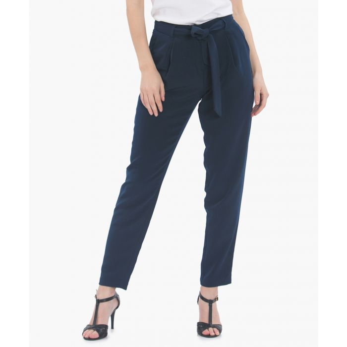 Image for Belted trousers