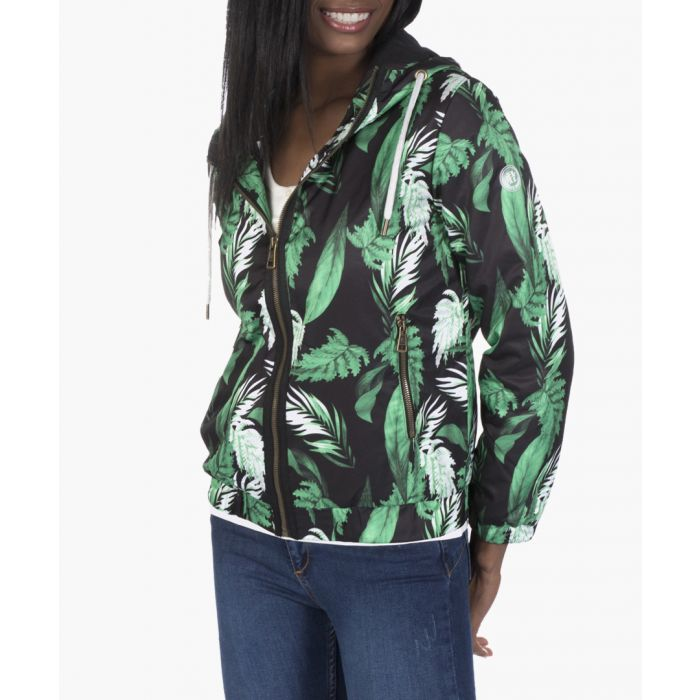 Image for Black and green coat