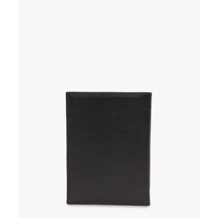 Image for Black embossed logo wallet