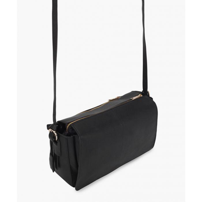 Image for Atrani black leather crossbody