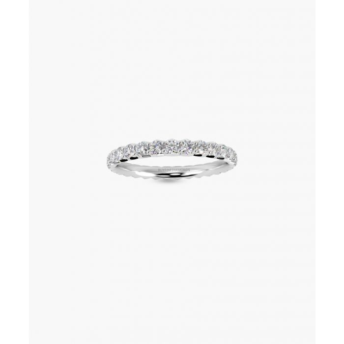 Image for 18k white gold full eternity ring