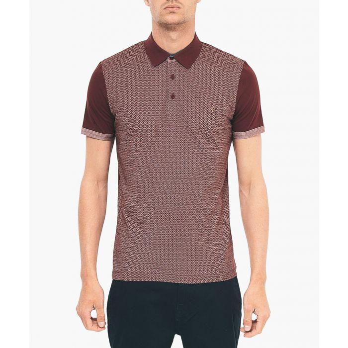 Image for Merlot pure cotton polo shirt