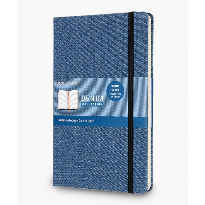 Image for Denim collection notebook large 13x21cm