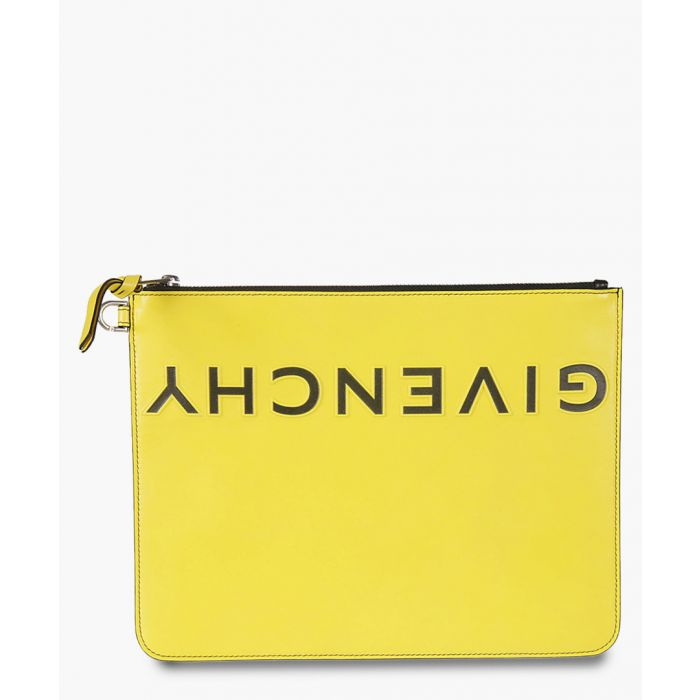 Image for logo embossed clutch