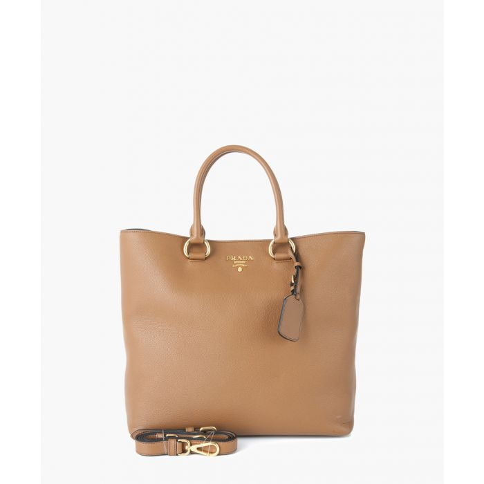 Image for Vitello Phenix leather shopper