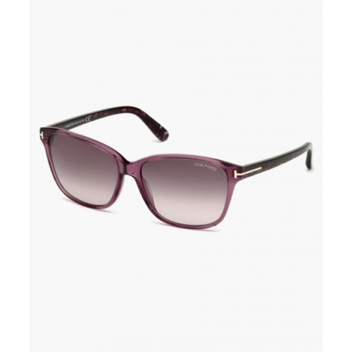 Image for Dana burgundy sunglasses