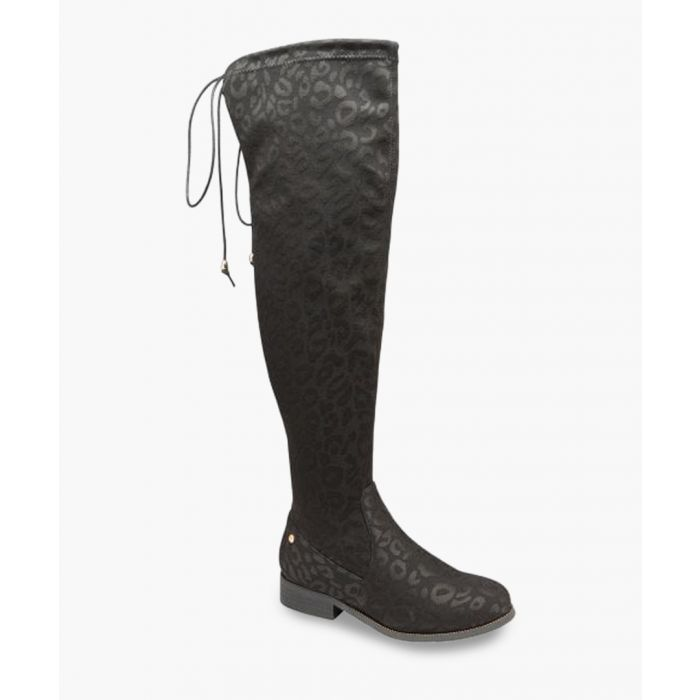Image for Black knee-high boots