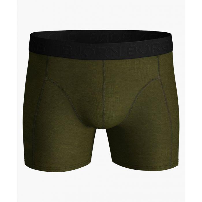 Image for Sammy olive tencel blend shorts