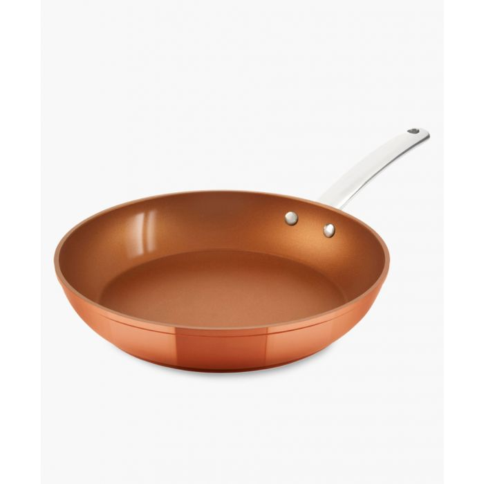 Image for Copper-tone forged frying pan 24cm