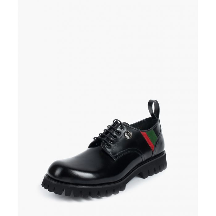Image for Michelen leather lace-up shoes