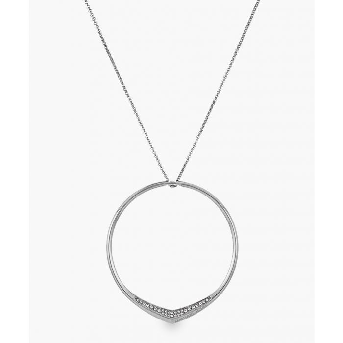 Image for Silver-plated stainless steel pendant