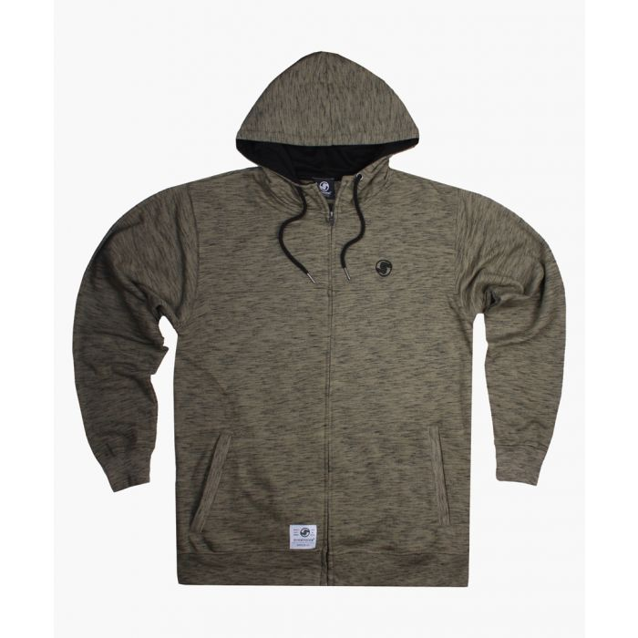 Image for Khaki zip-up hoodie