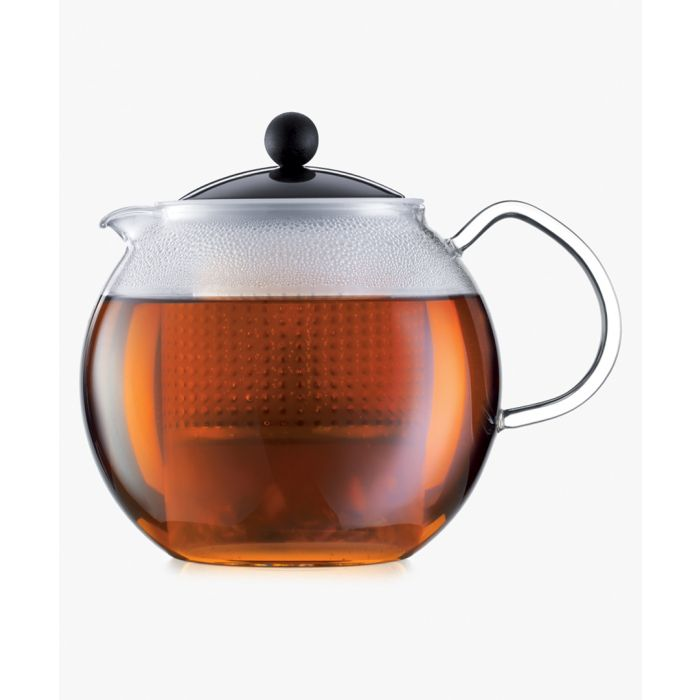 Image for Glass handle coloured tea press 51 oz