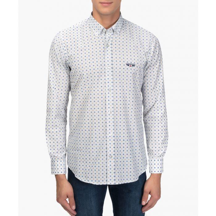 Image for Vora cotton blend shirt