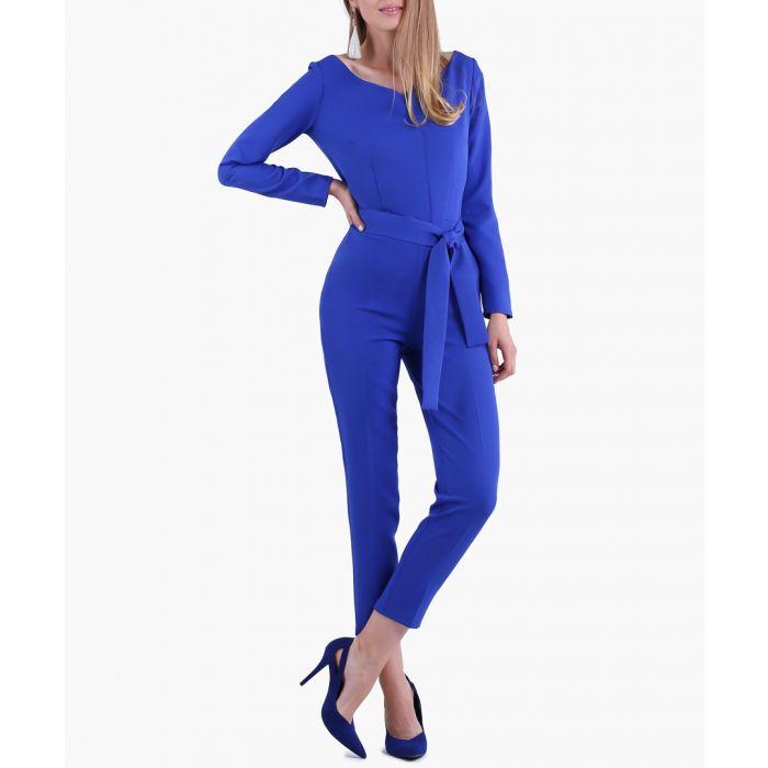 Image for Cobalt woven jumpsuit