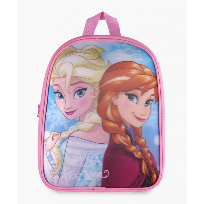 Image for Frozen Elsea and Anna pink backpack