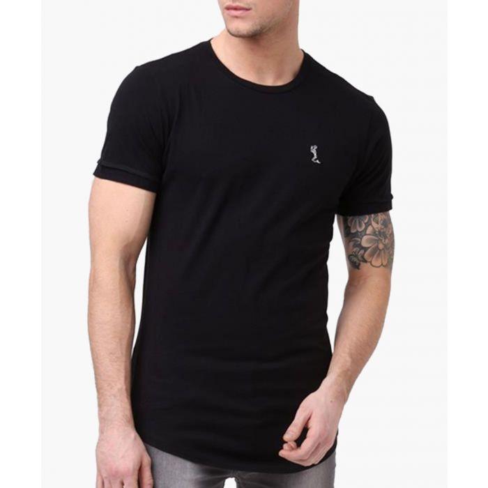 Image for Black plain ss crew neck T-shirt
