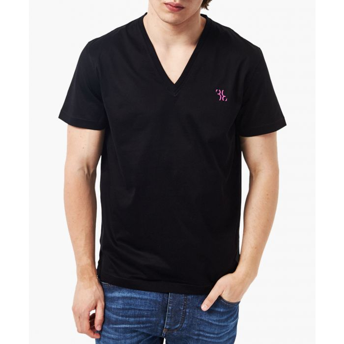 Image for Black V-neck T-shirt