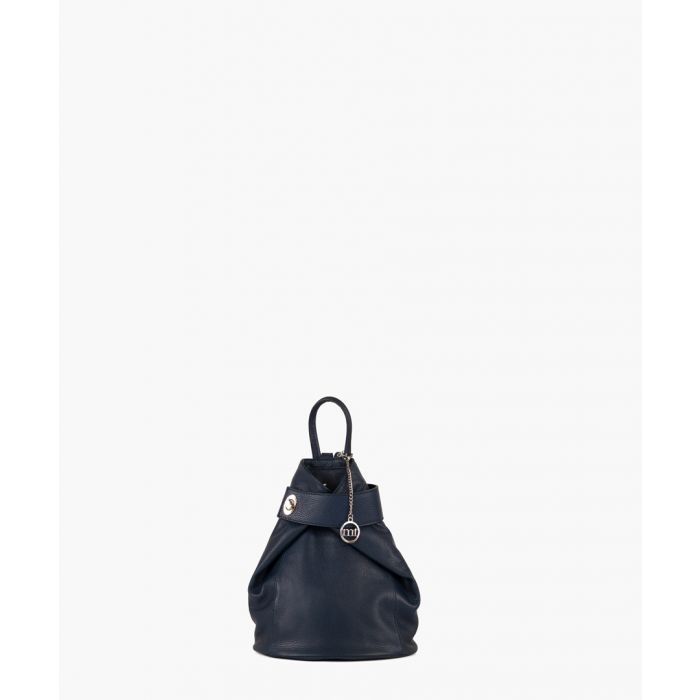 Image for Sirietto navy shoulder bag