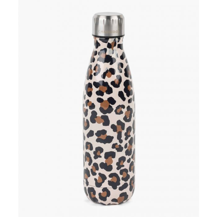 Image for Cambridge CM06513 Watercolour Leopard Thermal Insulated Flask Bottle, 500 ml