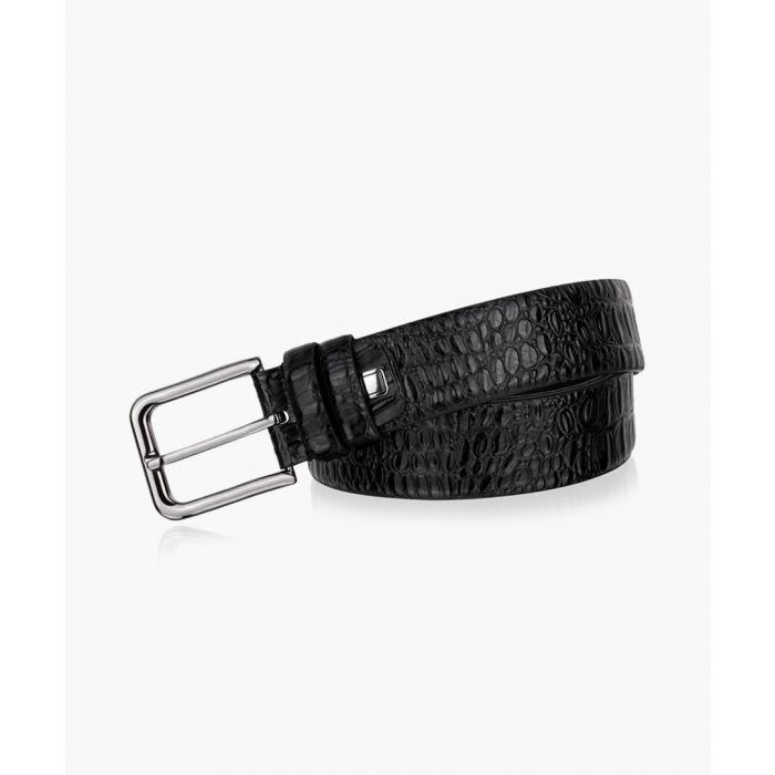 Image for Black leather belt