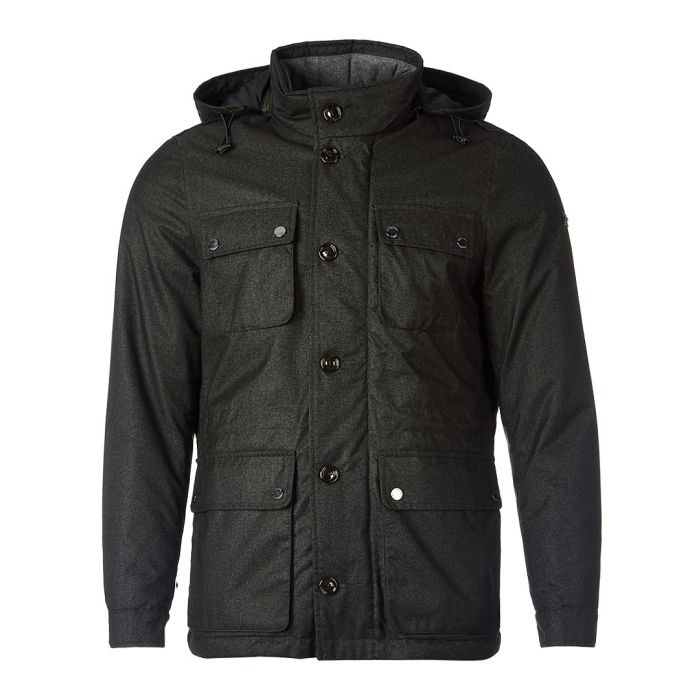 Image for Chiltern field olive jacket