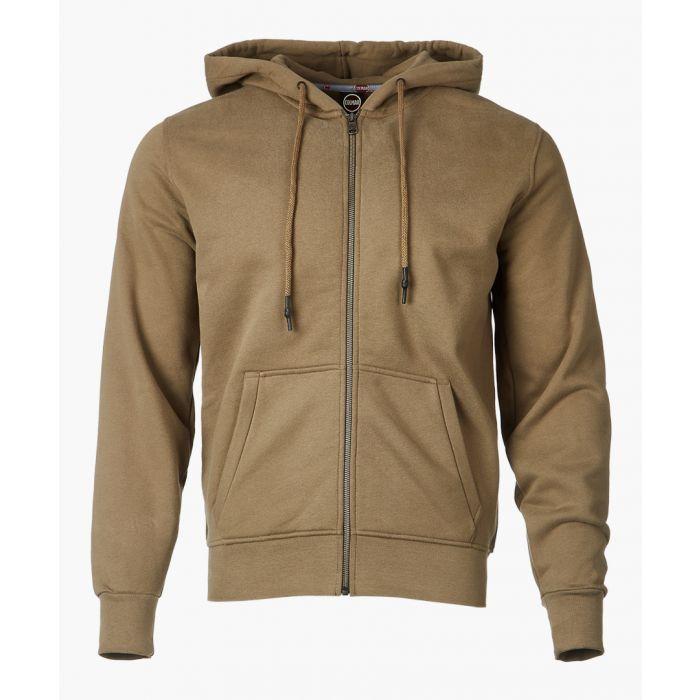 Image for Khaki pure cotton hoodie