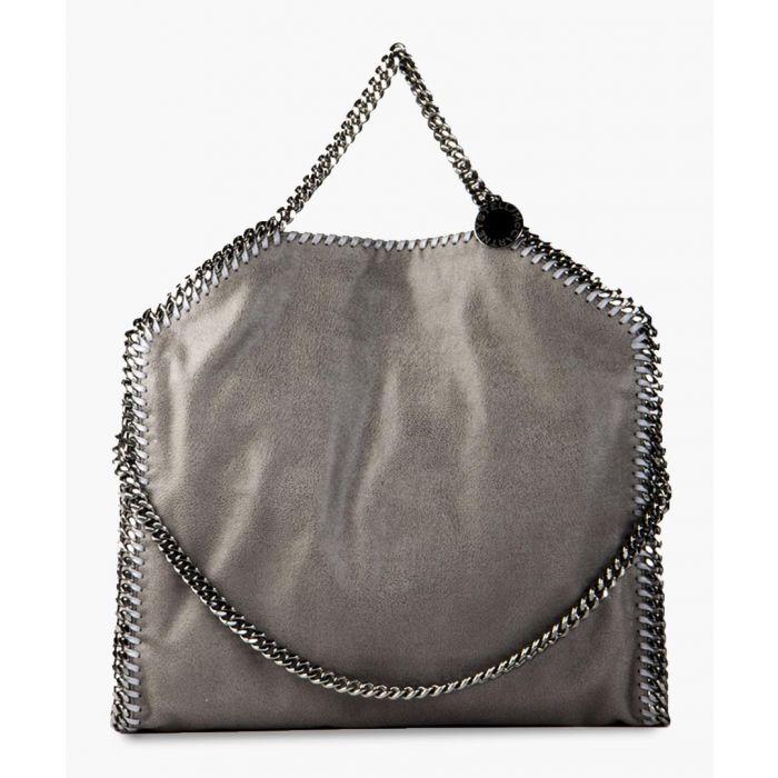 Image for Falabella silver-tone chain tote