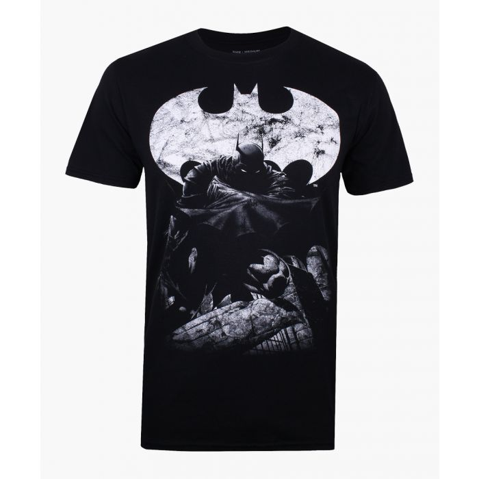 Image for Dark Knight black cotton T-shirt