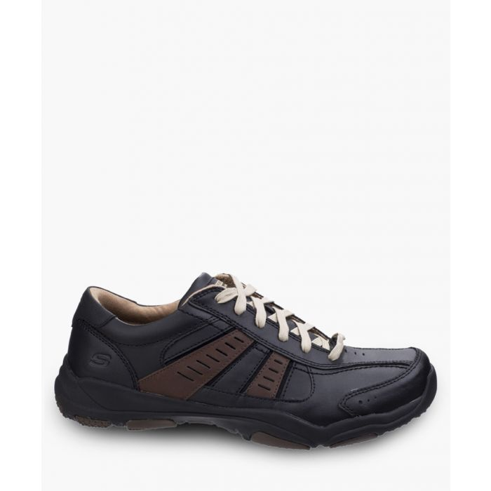Image for Larson Nerick black and tan trainers
