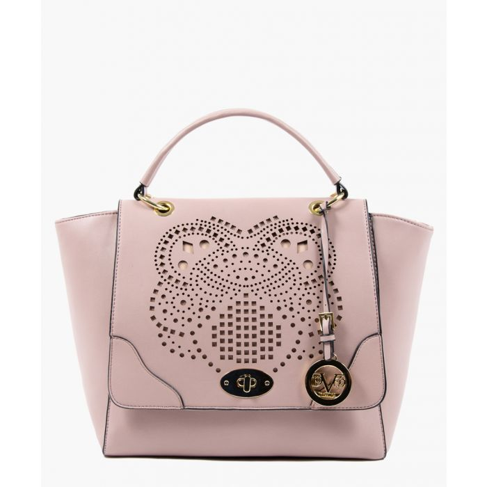 Image for Light purple perforated shopper bag