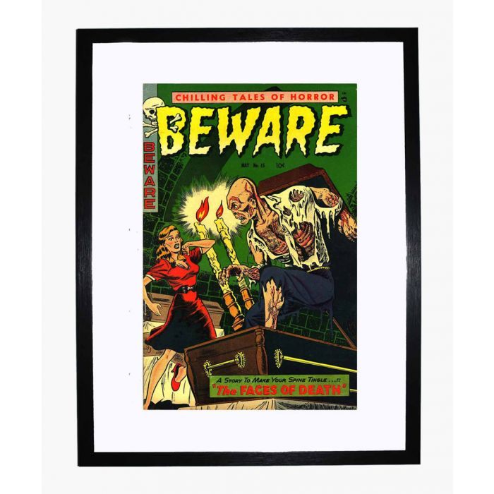 Image for Beware 15 framed print