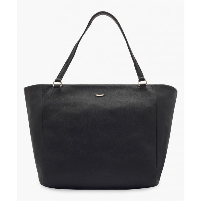 Image for Soria black leather bag