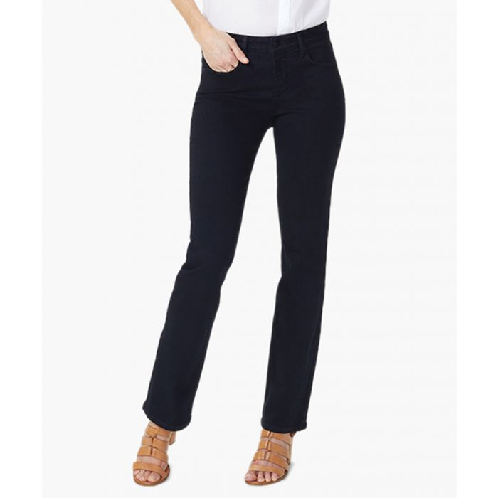 Image for Billie black mini bootcut jeans