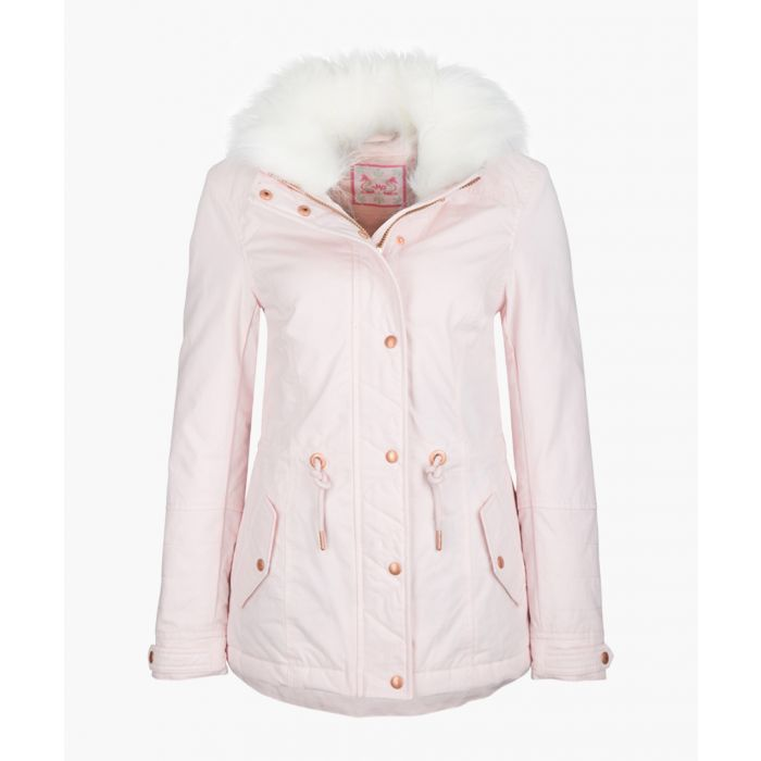Image for Rose faux fur hooded coat