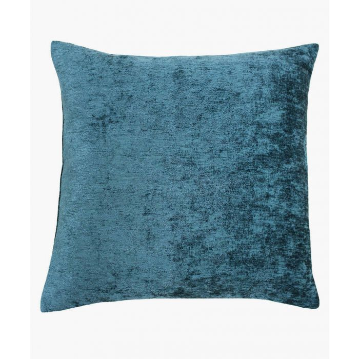 Image for Hampton blue textured cushion