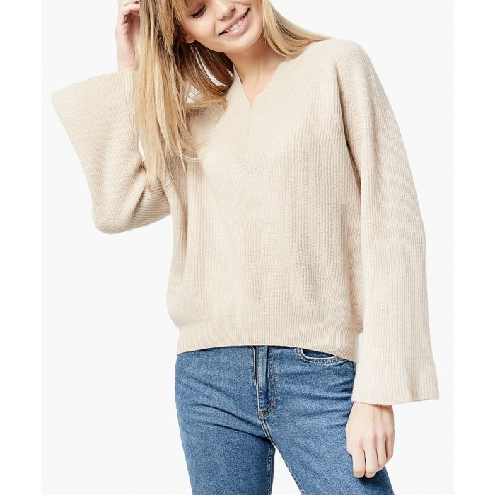 Image for Camel pure cashmere jumper