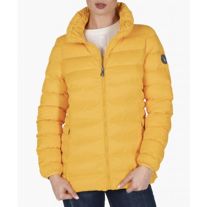 Image for Mustard cotton coat