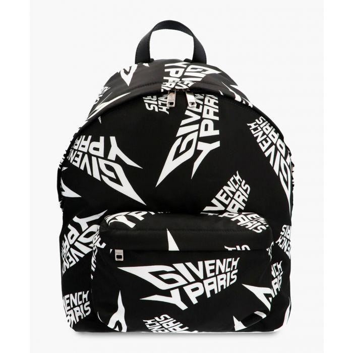 Image for Black extreme logo backpack