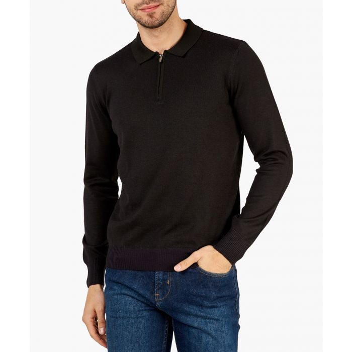 Image for Black multi-coloured sweater