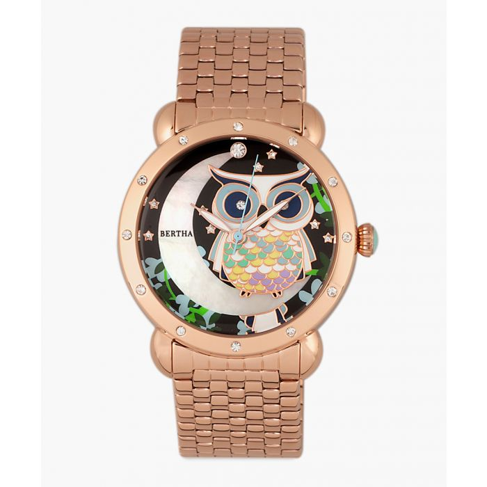 Image for Ashley rose gold-tone watch